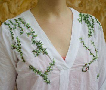 Une nouvelle chemise végétale !