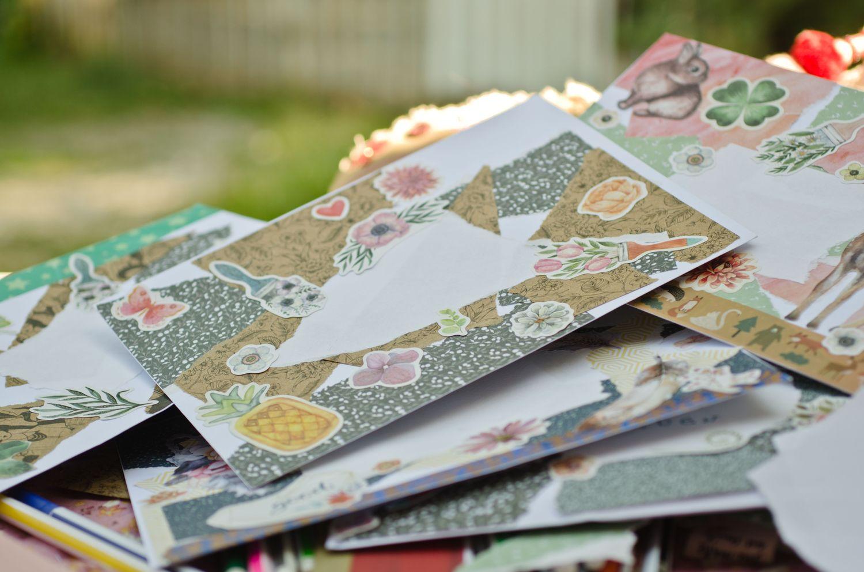 TUTO DIY : L'art de la correspondance ou comment décorer une enveloppe ?